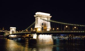 ponte delle catene by night budapest