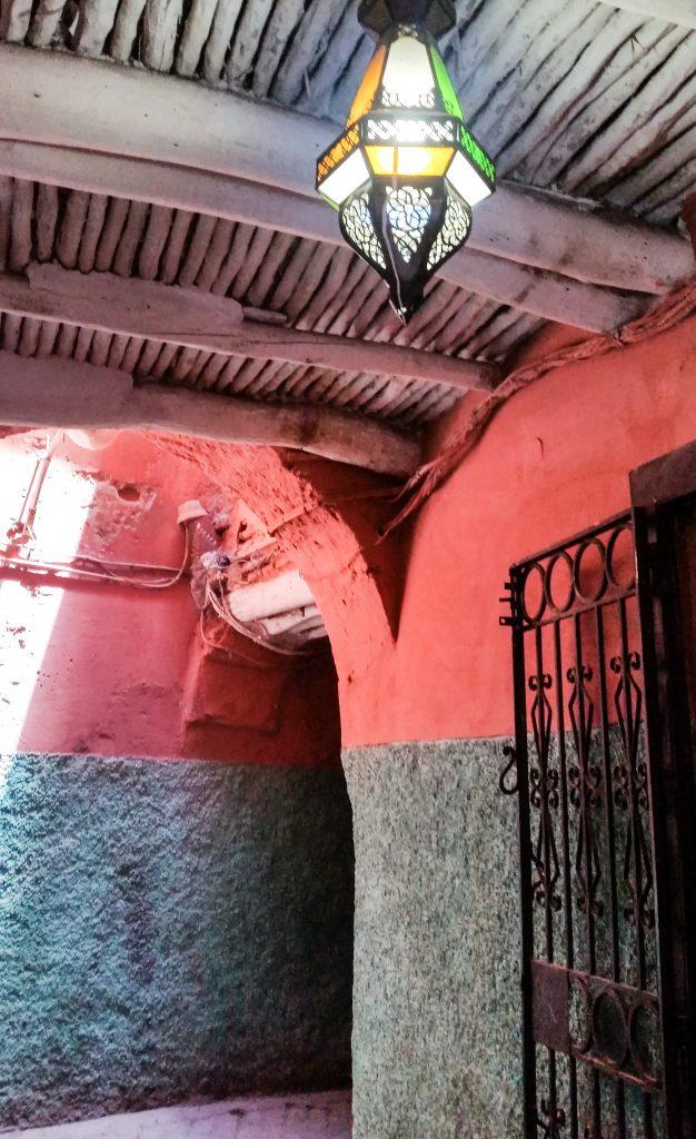 vicoli marrakech città rossa medina
