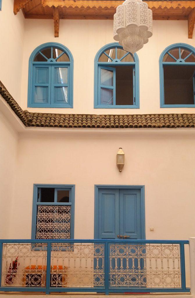 porticine-azzurre-riad-dardaoud-marrakech