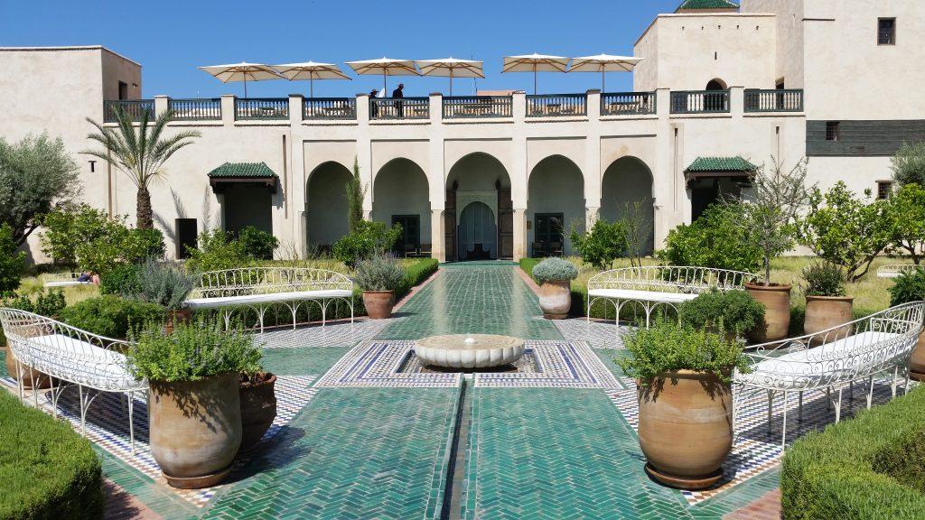 le jardin secret medina marrakech