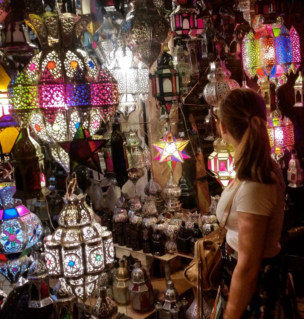 lanterne souk marrakech