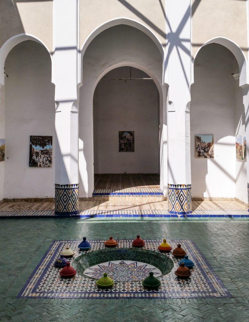 tajine colorate marrakech museum