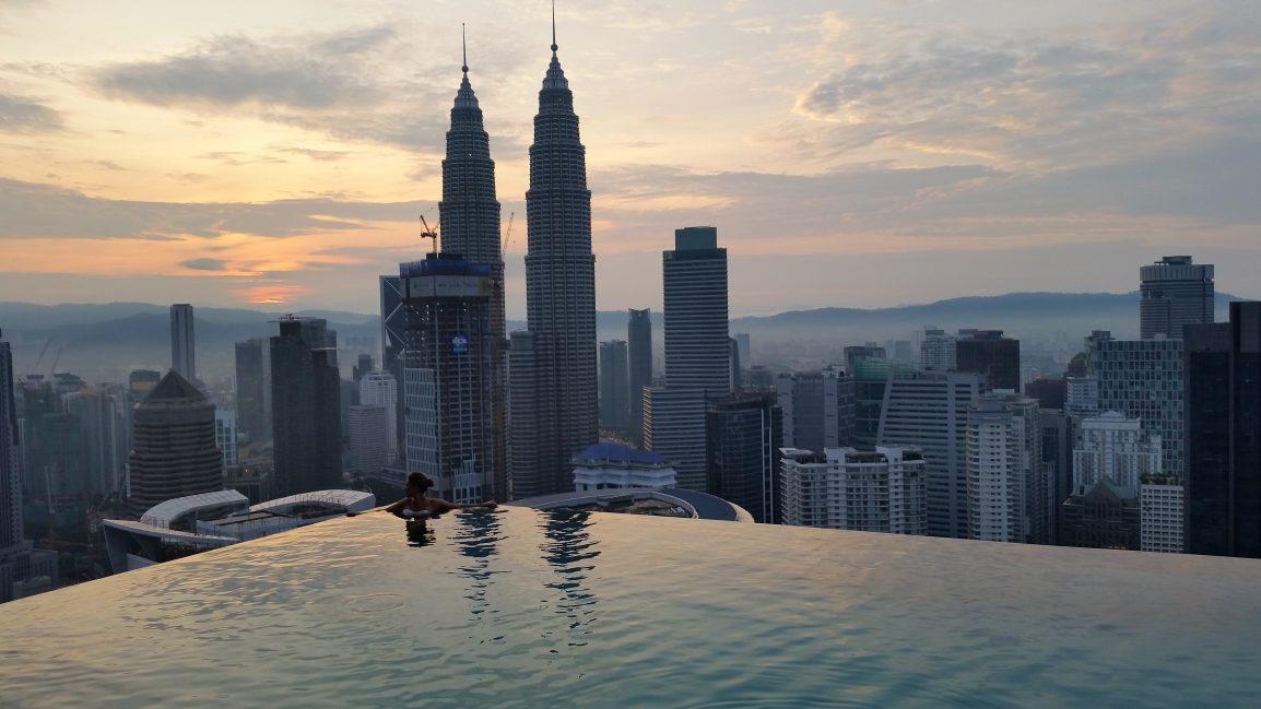 malesia itinerario due settimane infinity pool