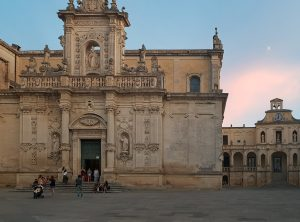 Tramonto sul Duomo di Lecce