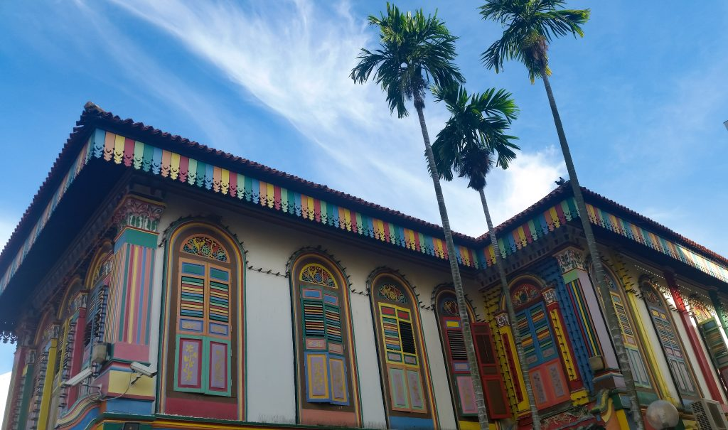 i colori di little india a singapore