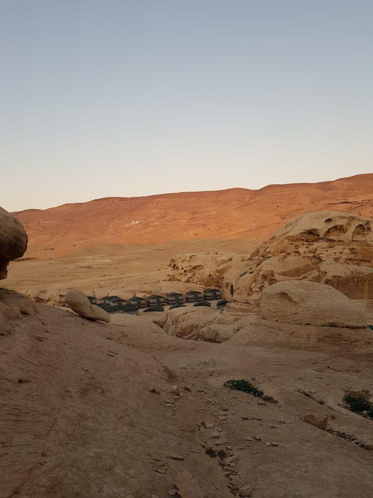 campo petra giordania