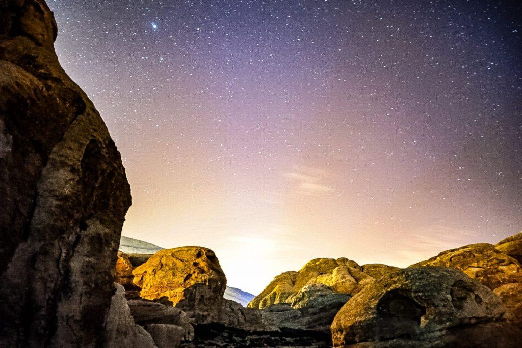 cielo stellato a petra